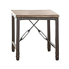 image of Steve Silver Co. Jersey End Table in Tobacco