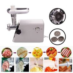 New Multi Function Electric Meat Grinder Quality Sausage Maker Household Appliances >>> See this awesome image  : Small Appliances