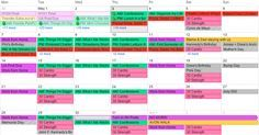 Organize your life Google Calendar, Office Supply Organization, Planner Organization, Organization Ideas, Calander, Making Life Easier, Organize Your Life, Day Planners, Working Moms