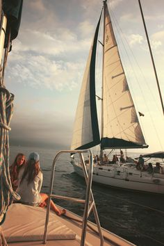 That's such a pretty sail boat, I love sail boats, they are so interesting and pretty. I hope that I can own one one day.