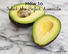 "Some foolproof tips for selecting the ever-elusive ""perfect avocado.""  #homechef #love #meal #cookingtechniques #technique #howto #cook #recipe #avocado #foodhacks"