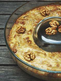 Flan d'endives - Recipe - Rezepte Cookbook Recipes, Meat Recipes, Chicken Recipes, Casserole Recipes, Crockpot Recipes, Ravioli, Easy Dinner Recipes, Easy Meals, Breakfast Recipes