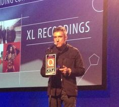 XL Recordings' Richard Russell at the Xperia Access Q Awards