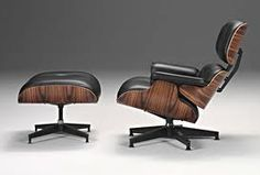 #HermanMiller Eames Chair and ottoman