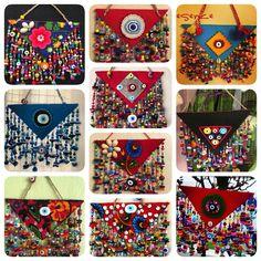 nazarlık, felt, amulet, handmade, turkish eye, feltro