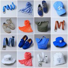Decisions, decisions? Today summer compilation of men accessories!  Shop now here >> www.escales-paris.com