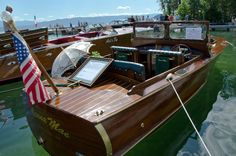 Lakeside Montanas August Antique Wooden Boat Show is a real treat from a more elegant time.  Several models were originally made in this area on Flathead Lake