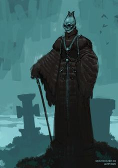 death eater concept art - Google Search