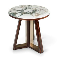 Marble and wood make the perfect match for this luxury side table. #sicis #sicishomecollection #sicishome #furniture #furnituredesign #furnitureideas #luxuryfurniture #home #homedecor #homedecorideas #homedesign #designinspiration #livingroomideas #livingroomdecor #luxury #livingroomdesign