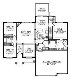 13 Best 1700 1800 Sq Ft House Images Ranch House Plans Ranch Home