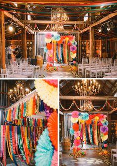 Gena and Tony | Extraordinarily imaginative 'colour explosion' Jewish wedding at the Sydney Polo Club, NSW, Australia