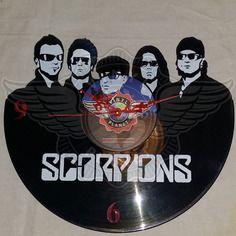 26,50 € Horloge vinyle décoration Scorpions