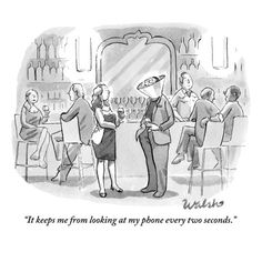 """""""It keeps me from looking at my phone every two seconds."""" - The New Yorker"""