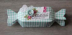 blog.karten-kunst.de - Candy- Box. Karten-Kunst Weise Worte Schokolade, Memory Keepers Candy Box Punch Board