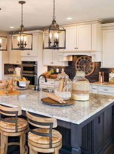 Modern Kitchen Cabinets - CLICK THE IMAGE for Many Kitchen Cabinet Ideas. 57393245 #kitchencabinets #kitchenisland