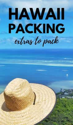 Whether the Hawaii vacation is on Oahu, Kauai, Maui, or the Big Island for a week or month, you'll want to pack for the beach and hiking gear! So add beach outfits and hiking outfits to the vacation packing list to prep for the best beaches, snorkeling, swimming, and hikes! With this Hawaii packing list of what to pack for Hawaii are travel tips on a budget and for luggage, and vacation ideas for things to do in Oahu, Waikiki, North Shore and USA travel destinations for the bucket list too!
