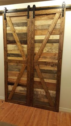 BARN DOORS Our custom built pallet wood barn doors bring charm and character to any room in the house. We consult with our customers to choose the specific hardware that best creates just the right look. All we need is the door frame's dimensions, and we will design the rest. HOME ACCENT WALLS Accent …