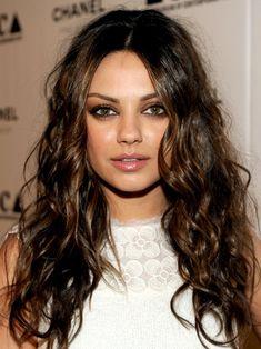 Pictures : Mila Kunis's Best Hair Styles - Mila Kunis Natural Ringlets