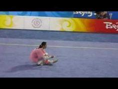 Fan Mang Yun performing Tai Chi Sword in 2008 Beijing Olympics