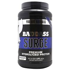 Baddass Nutrition Baddass Surge 2 Lbs - Whey - Protein - Sports Nutrition & More