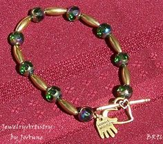 Czech Bead Bracelet  Outstanding Handmade  by by JewelryArtistry, $35.00