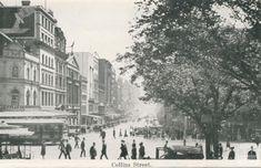 Melbourne, Street View, Australia, History, Historia