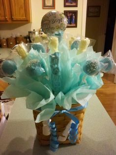 Brand New Baby Cake Pop/ Chocolate Lollipop Bouquet