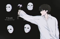 Tear 'Singularity' by Kanomatsu on DeviantArt Kpop Drawings, Art Drawings Sketches Simple, Exo Fanart, Taehyung Fanart, Bts Taehyung, Kpop Posters, Korea, Bts Chibi, Moon Art