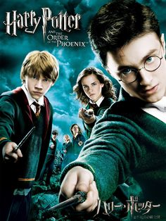 Returning for his fifth year of study at Hogwarts, Harry is stunned to find that his warnings about the return of Lord Voldemort have been ignored. Phoenix Harry Potter, Harry Potter 5, Streaming Movies, Hd Movies, Movies Online, Hd Streaming, Movie Tv, Lord Voldemort, Daniel Radcliffe