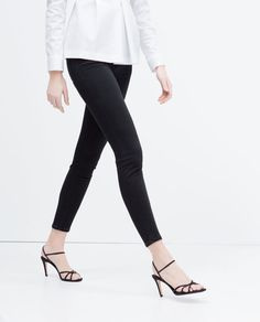 Image 3 of HIGH-HEEL STRAPPY SANDAL from Zara