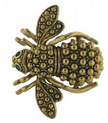 "Joan Rivers ""Metal Studded Bee"""