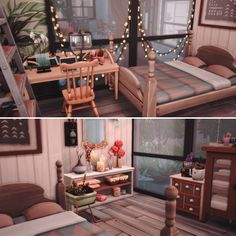 Sims 4 House Plans, Sims 4 House Building, Building Games, Muebles Sims 4 Cc, Sims 4 Bedroom, Sims 4 House Design, Casas The Sims 4, Sims 4 Characters, Sims 4 Cc Furniture