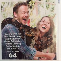 Derek Hough And Bindi Irwin Featured In New Issue Of US Weekly – Photo | Pure Derek Hough