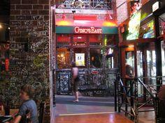 Gino's East (awesomely awesome Chicago deepdish pizza) -- photo courtesy of Stephen J Garrett @ginoseast @stephenjgarrett