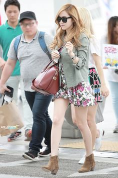 SNSD Jessica airport fashion - July 19