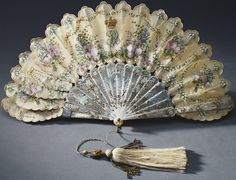 Fan given by Prince Albert to Queen Victoria on her thirty-ninth birthday, May 24, 1858 From the Royal Collection