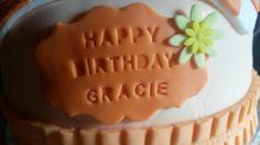 Gracie-jo birthday cake (shirlie's cakes)