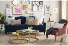 Diy Nesting Coffee Table Ikea Hack Home Decor Trends