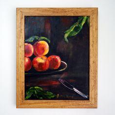 yağlı boya / meyve sepeti | oil painting / fruit basket