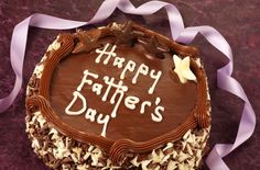A Father's Day chocolate cake recipe from Tesco Real Food. Make it with the kids - what dad could resist? | Tesco
