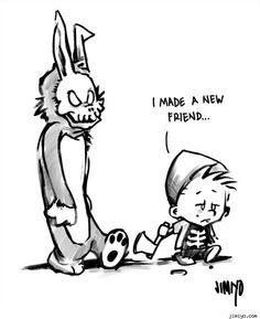 Calvin and Hobbes Donnie Darko