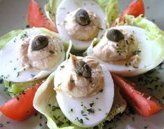 Tőkehalmáj krémmel töltött tojás Potato Salad, Vitamins, Breakfast, Ethnic Recipes, Morning Coffee, Vitamin D