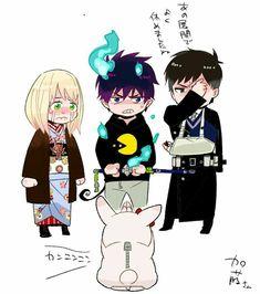 Ao No Exorcist, Blue Exorcist Mephisto, Blue Exorcist Anime, Rin Okumura, Rin And Shiemi, Fullmetal Alchemist, Anime Demon, Manga Anime, Manhwa