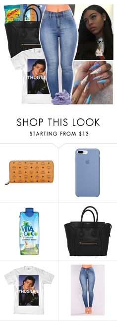 """Untitled #649"" by issaxmonea ❤ liked on Polyvore featuring MCM, Vita Coco and Puma"