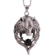 Wolf chaman tribal spirituel Réel Véritable Argent Sterling .925 Bague Saphir