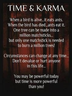 Time & Karma