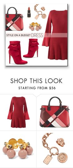 """""""Blush to Crimson"""" by metter1 ❤ liked on Polyvore featuring Burberry, Marni, nikki lissoni and Georgia Perry"""