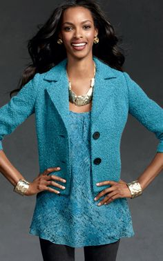Charming Jacket - Jackets - CAbi Fall 2012 Collection