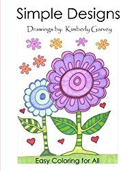 coloring books seniors simple laid easy adult elderly dementia adults kimberly garvey fantastic including drawings painting paperback garv activities activity