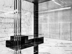 Saint Laurent Paris, Saint Laurent Store, Store Concept, Ysl, Boutique, Interior, Inspiration, Public, Retail